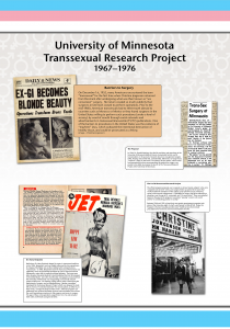 The University of Minnesota Transsexual Research Project from 1967-1976.